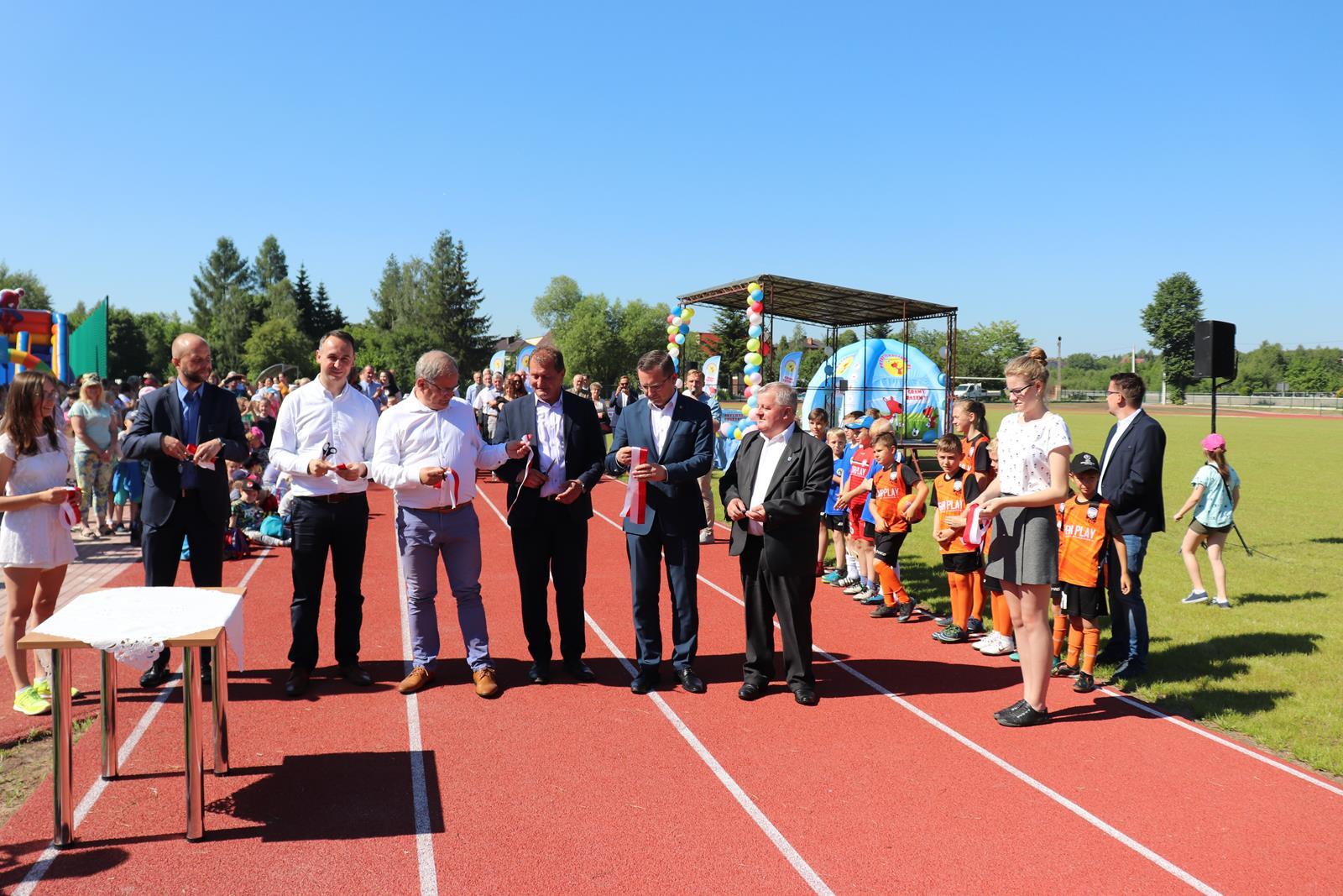 Photo of Stadion w Ręcznie oficjalnie oddany do użytku!