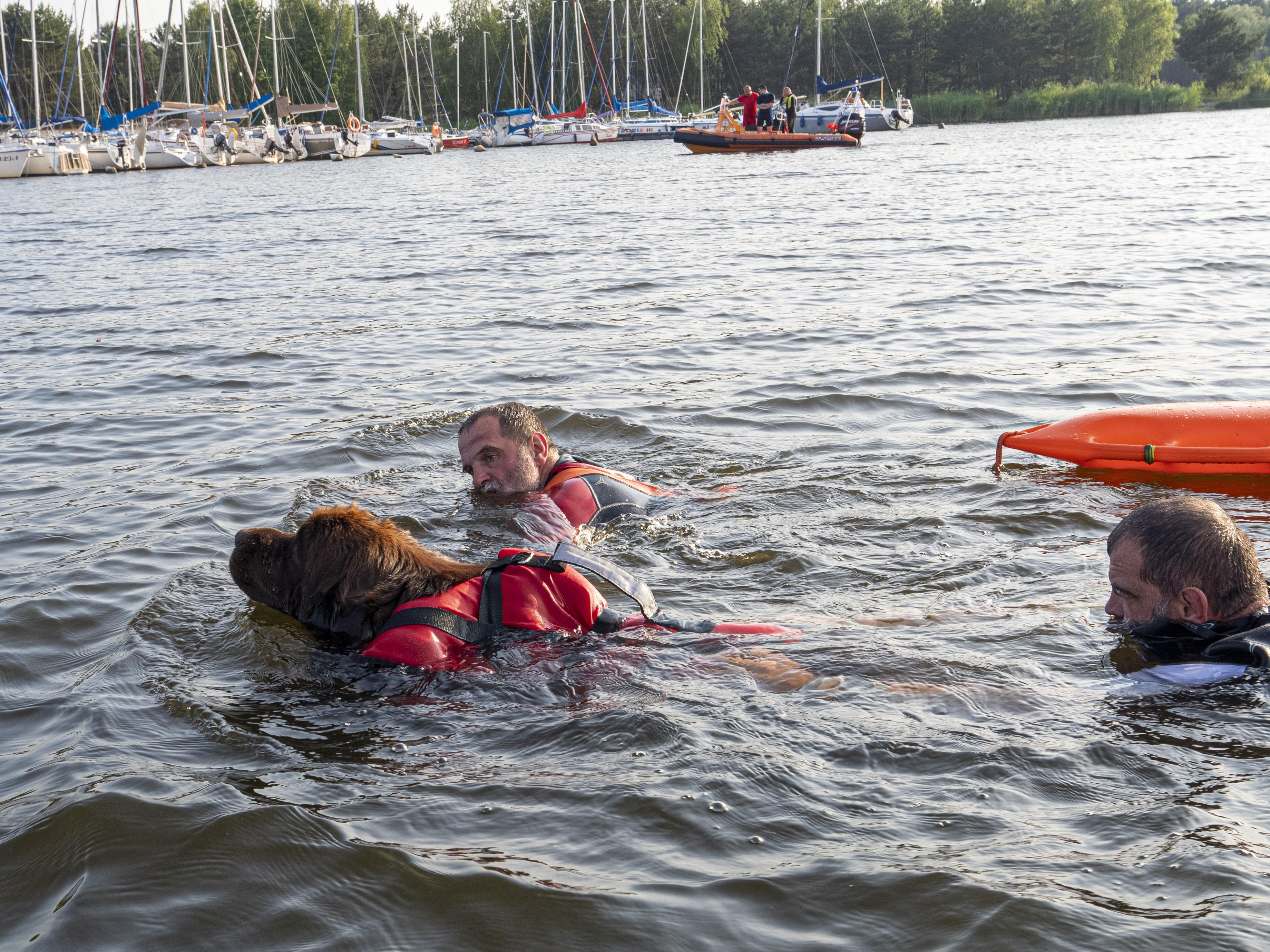 Photo of Na Zalewie Sulejowskim przewróciła się łódź. Trzy osoby uratowali wędkarze