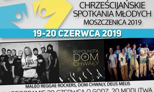 Photo of Chrześcijańskie Spotkania Młodych – Moszczenica 2019