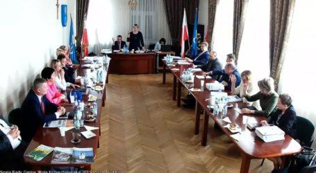 Rada Gminy Wola Krzysztoporska wyprowadziła unijną flagę – wideo