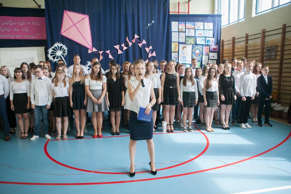 Photo of Gimnazjaliści z Gorzkowic zakończyli rok szkolny