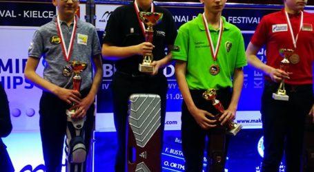 Oskar Jamorski srebrnym medalistą Junior Cup