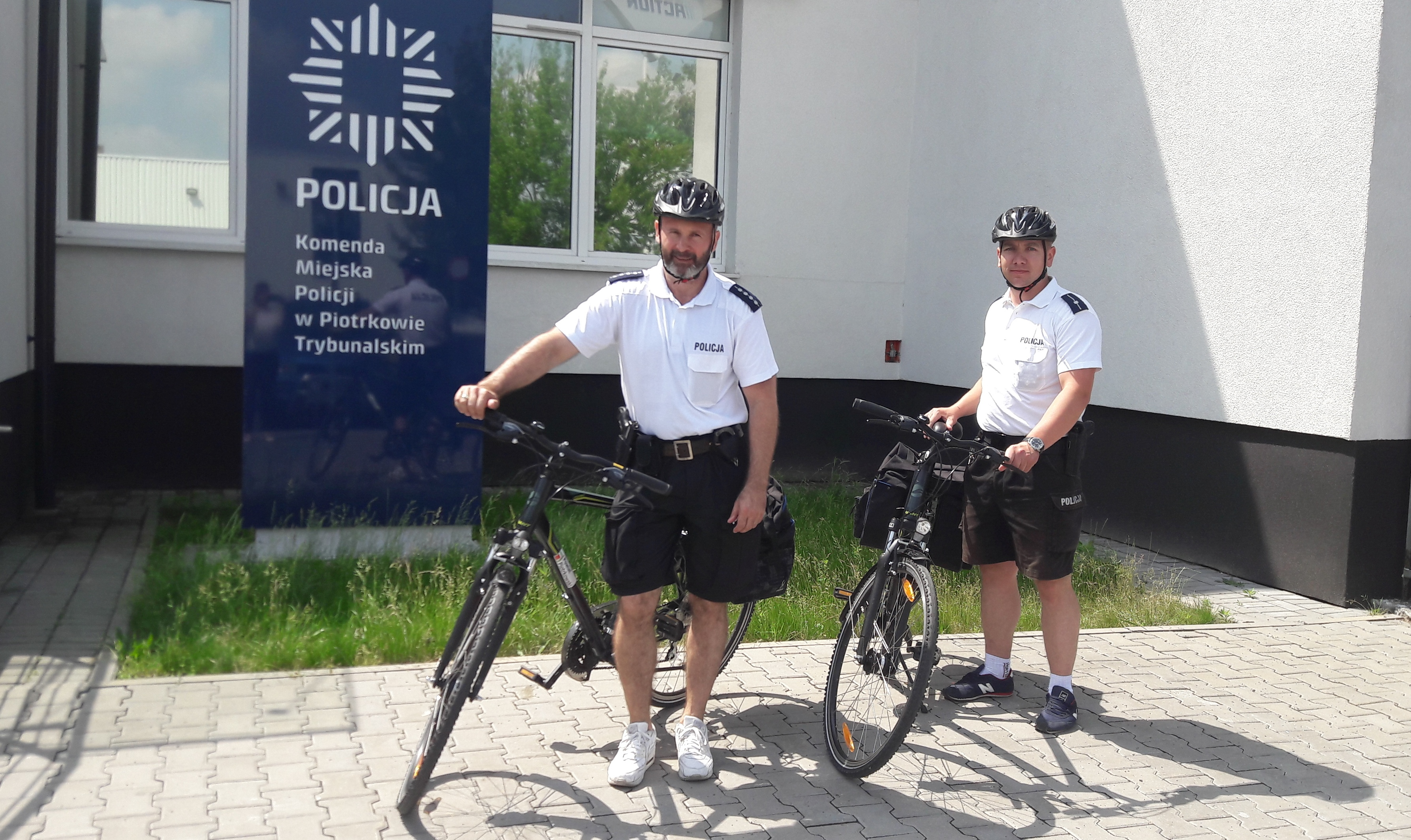 Photo of Patrole rowerowe na ulicach Piotrkowa