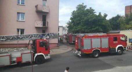 Pożar w mieszkaniu przy Jerozolimskiej