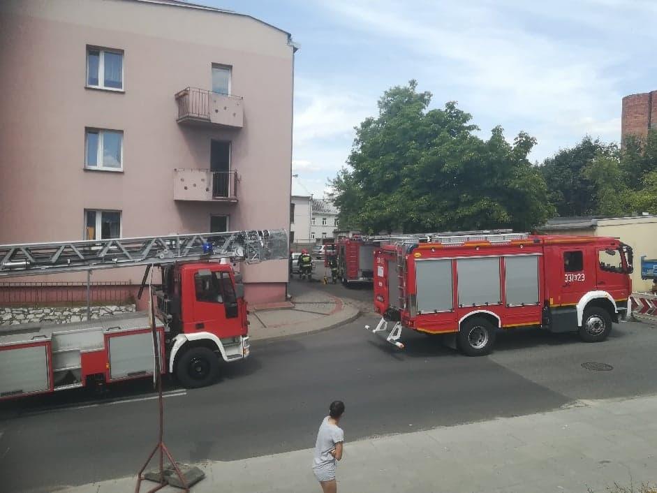 Photo of Pożar w mieszkaniu przy Jerozolimskiej