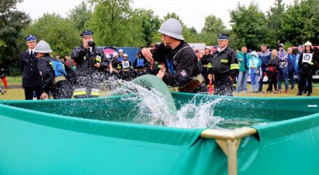Zawody pożarnicze w gminie Rozprza