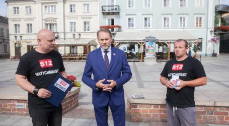 W sprawie S12 po spotkaniu z premierem Morawieckim