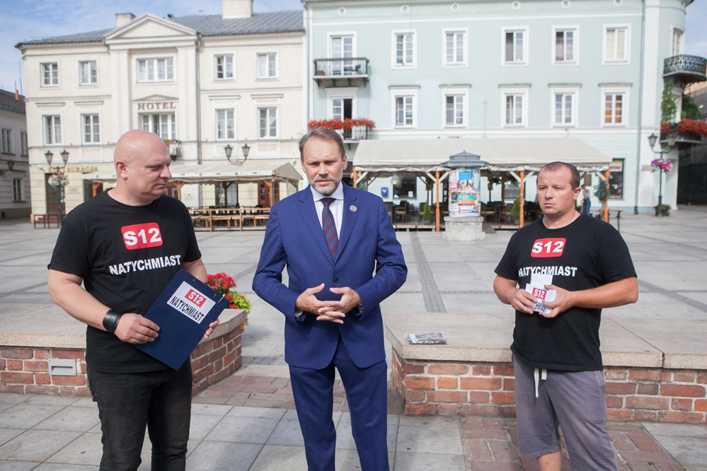 Photo of W sprawie S12 po spotkaniu z premierem Morawieckim