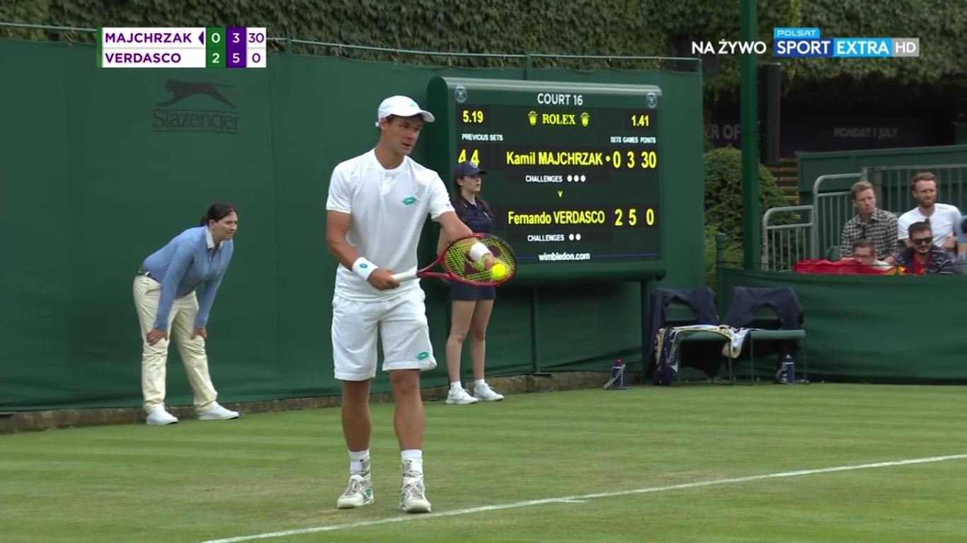 Photo of Kamil Majchrzak odpadł z Wimbledonu