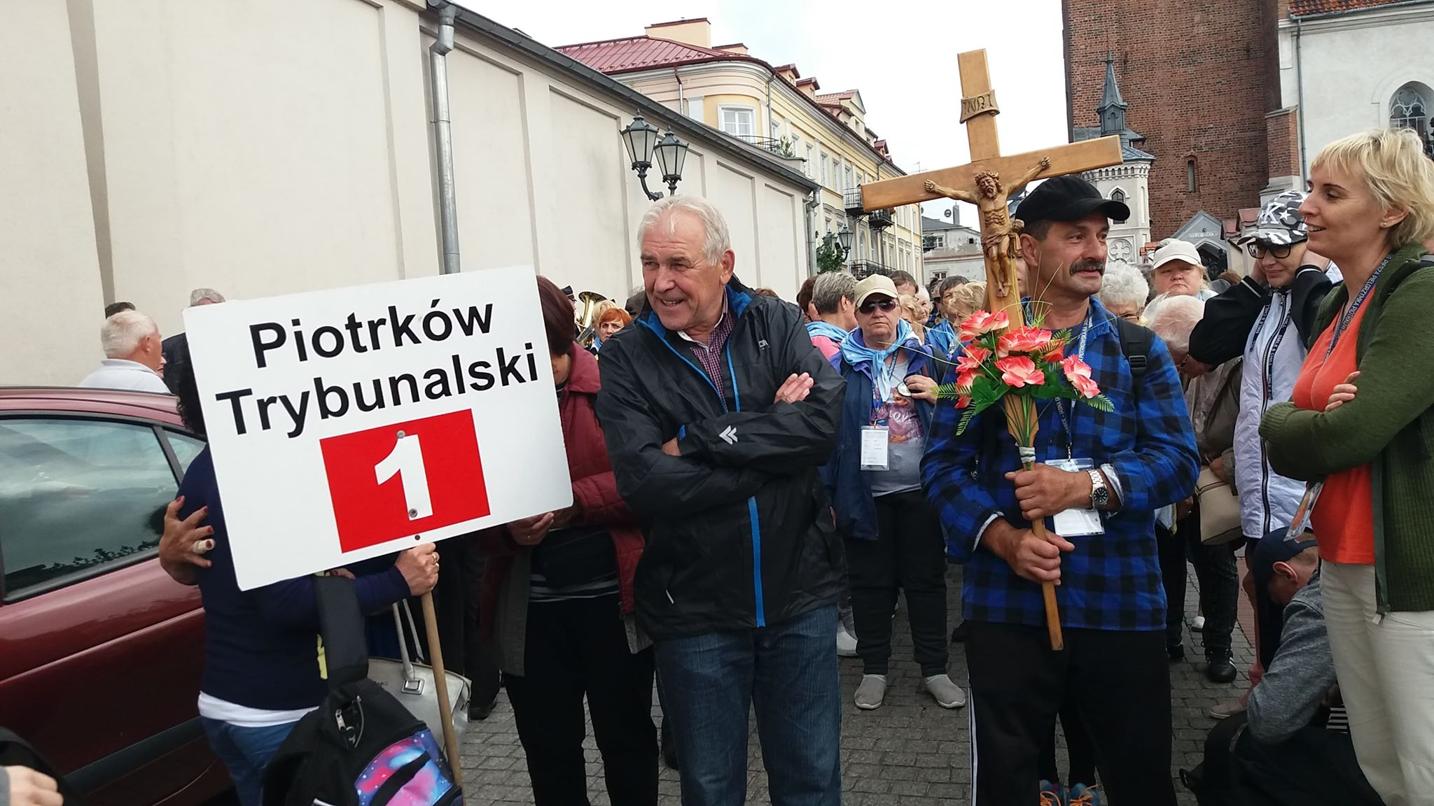 Photo of Wyruszyła 150. Piesza Piotrkowska Pielgrzymka na Jasną Górę – FILM