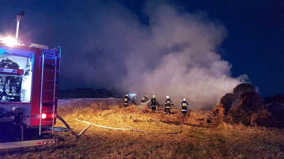 Photo of W Gazomi Nowej paliły się baloty słomy