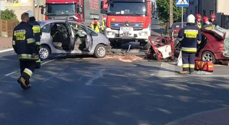 Poważny wypadek na moście w Sulejowie
