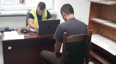 Obywatel Ukrainy próbował włamać się do sklepu
