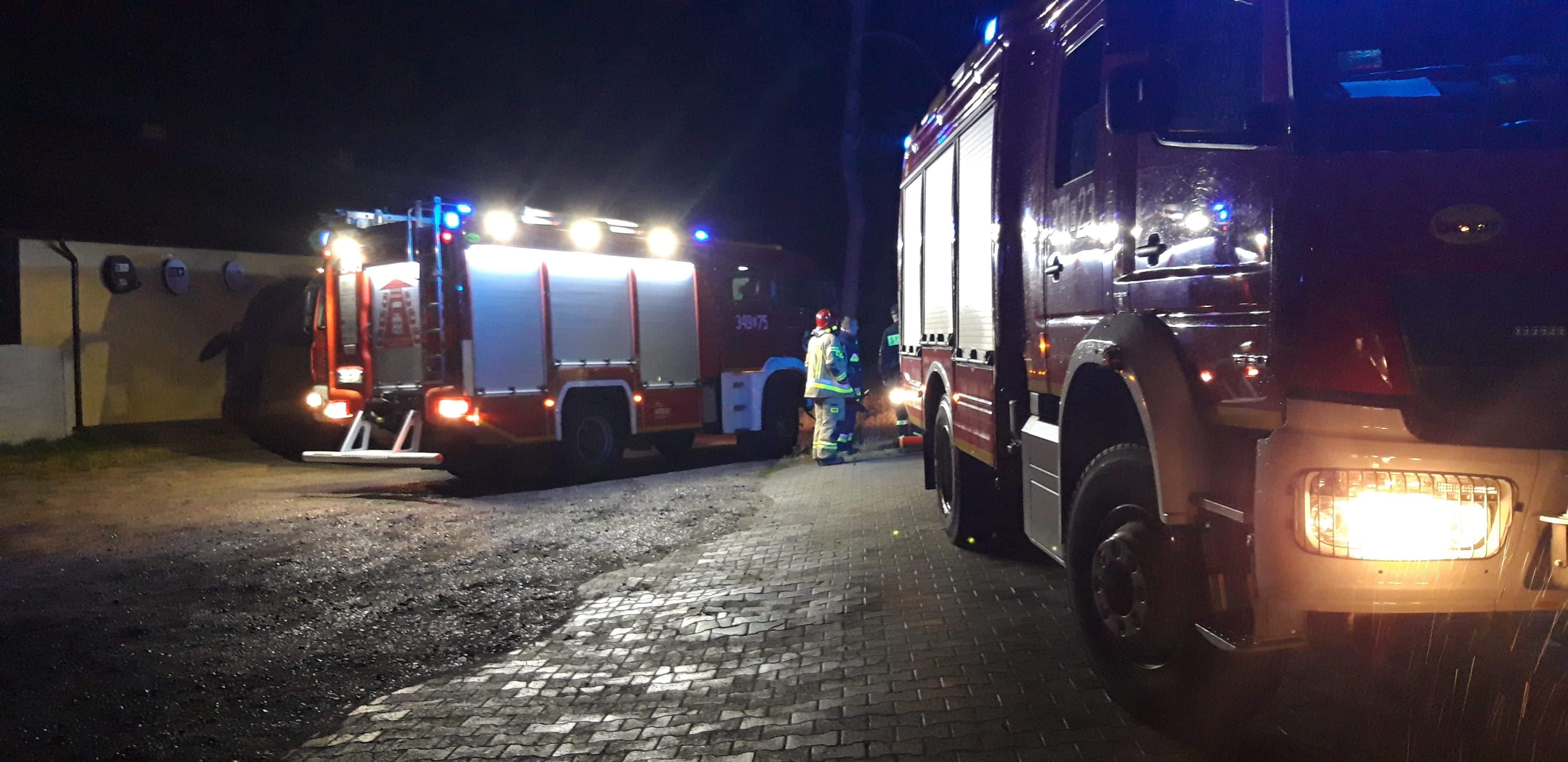 Photo of Miał być pożar domu, było wypalanie kabli
