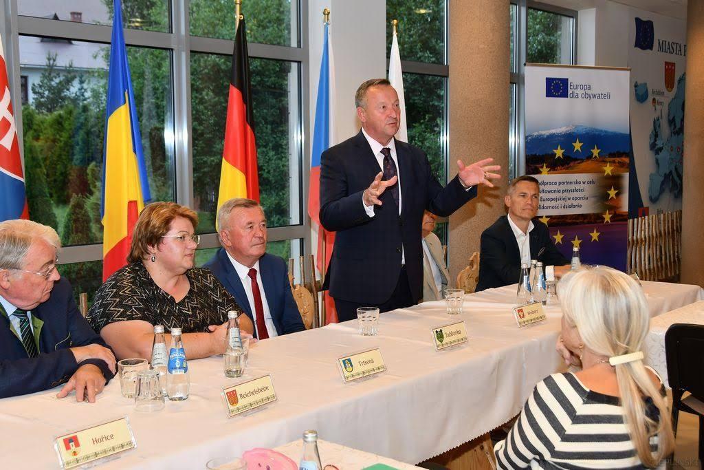 Photo of Wolbórz na międzynarodowej konferencji