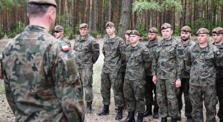 Terytorialsi ćwiczyli nad Zalewem Sulejowskim