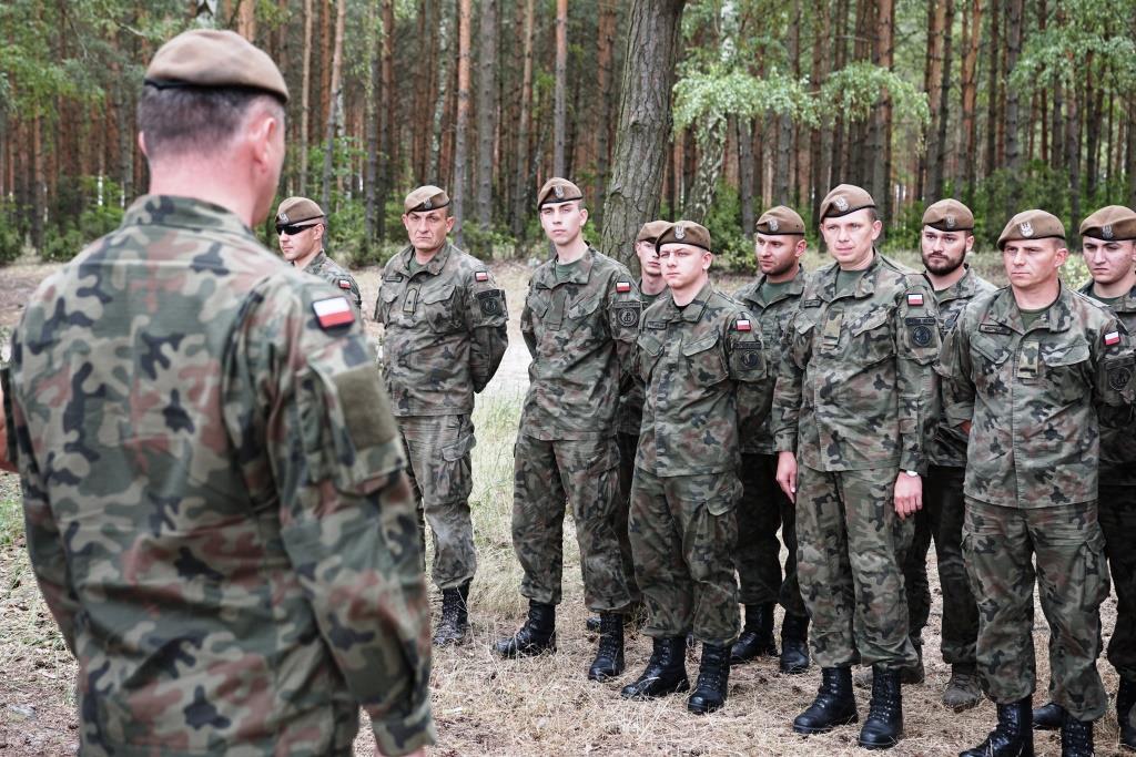 Photo of Terytorialsi ćwiczyli nad Zalewem Sulejowskim