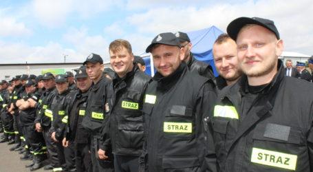Gminne zawody sportowo-pożarnicze Szydłów 2019