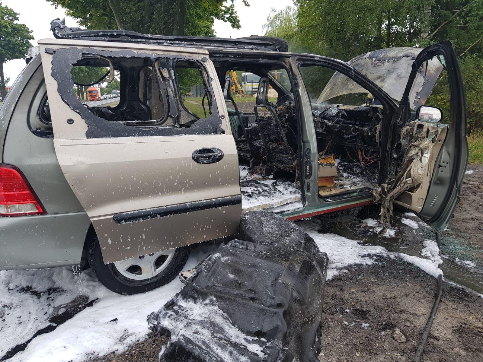 Photo of Pożar osobówki na Korytnicy