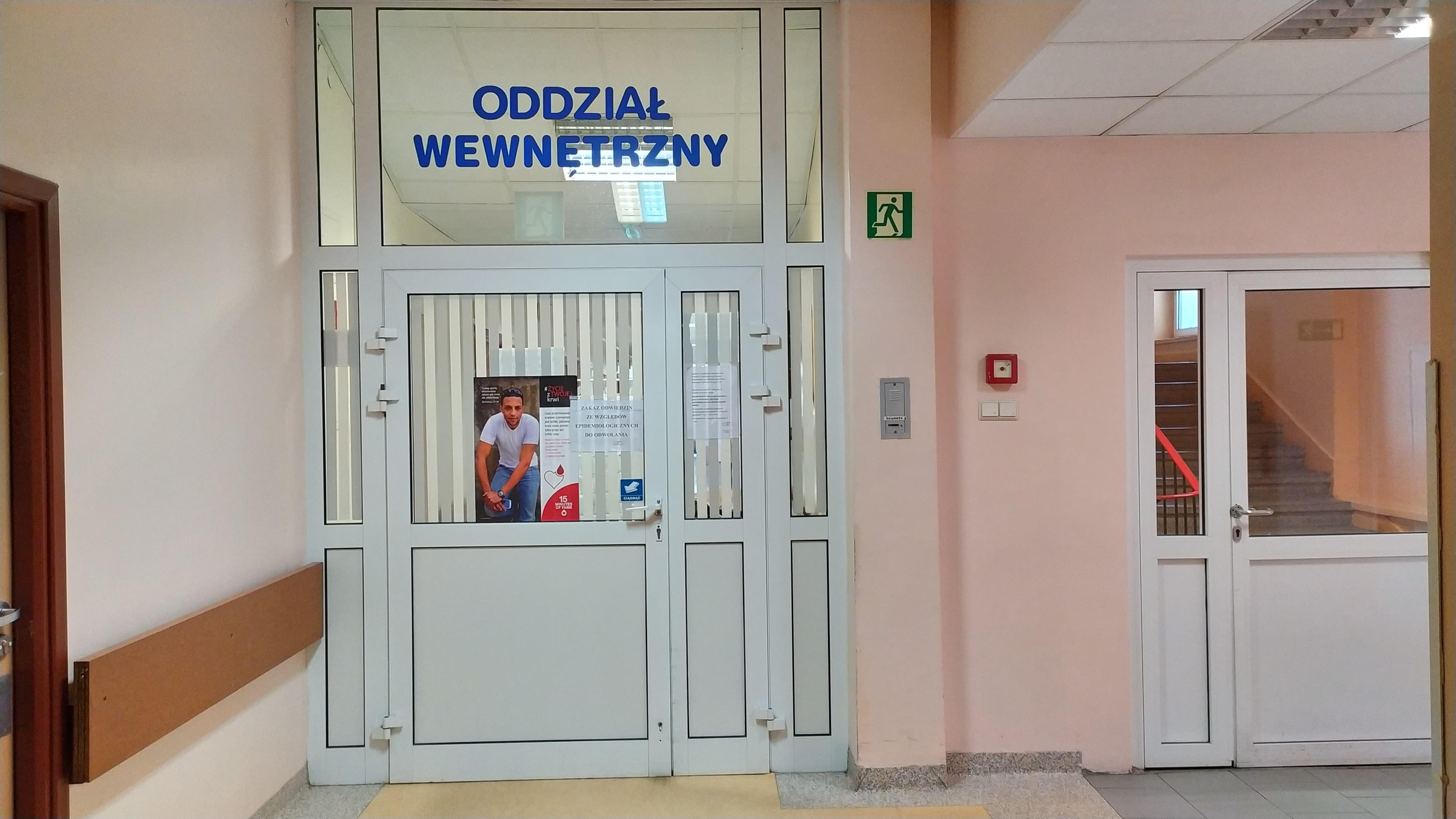 Photo of Odwołany zakaz odwiedzin na oddziale wewnętrznym w szpitalu przy Rakowskiej