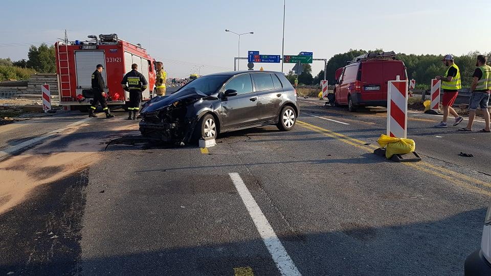 Photo of Wypadek na A1. Ranne dwie osoby