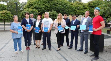 Koalicja Obywatelska zaprezentowała listę do Sejmu w okręgu 10