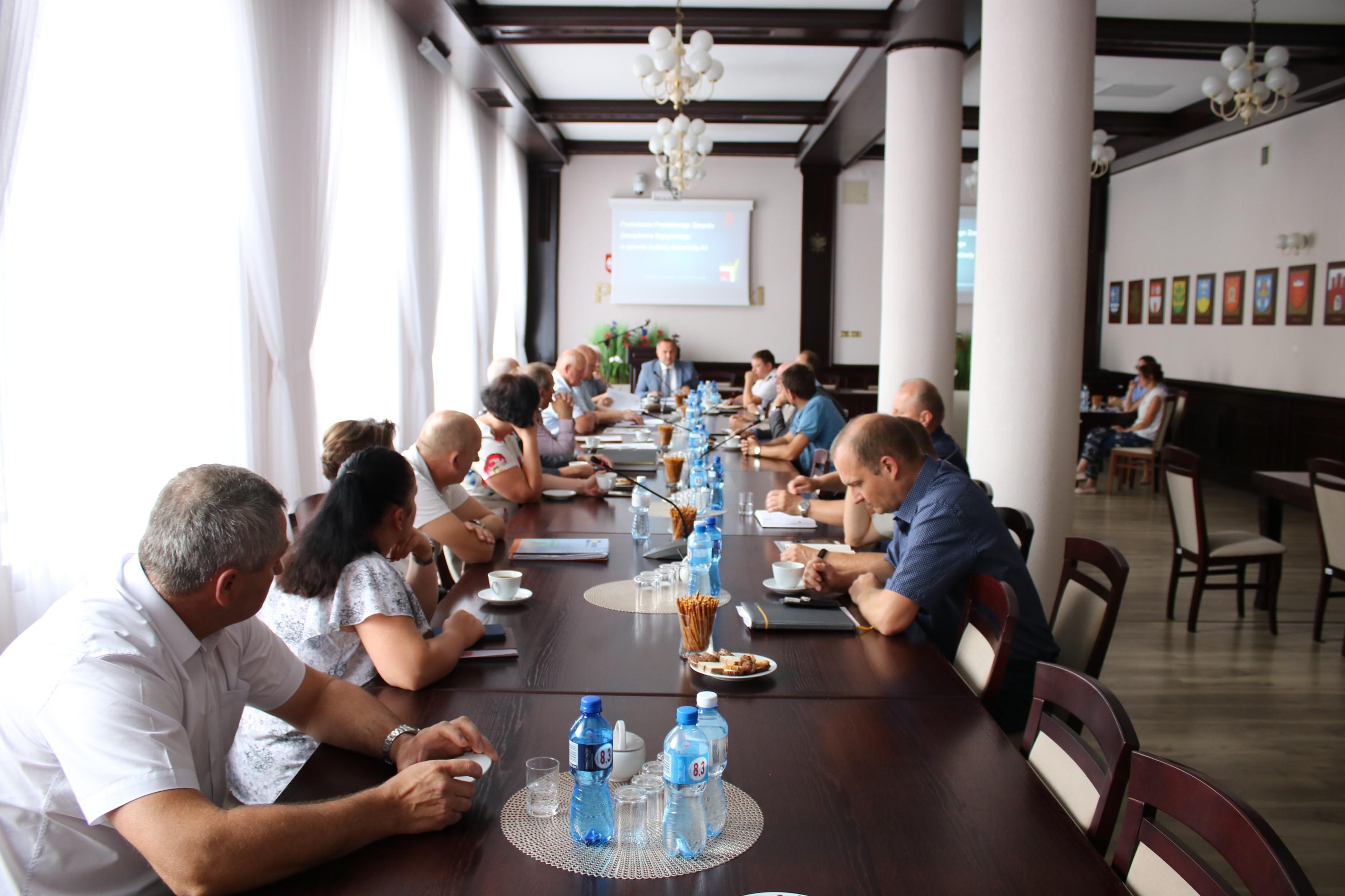 Photo of Organizacja ruchu podczas przebudowy kolejnego odcinka DK1 – spotkanie w starostwie