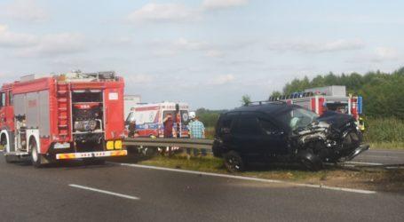 Wypadek na DK1. Droga w Blizinie zablokowana