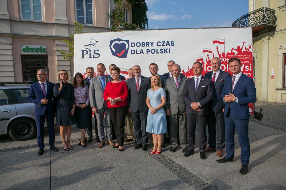 Photo of PiS zaprezentowało kandydatów do Sejmu i Senatu