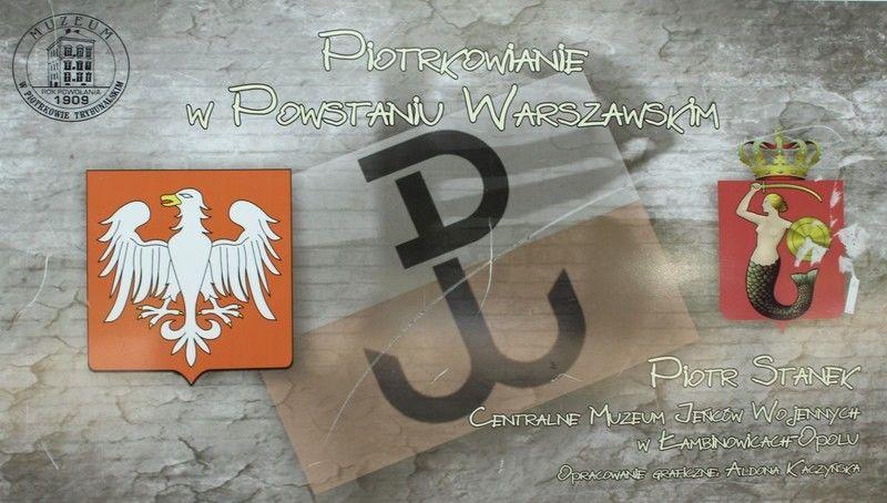"""Photo of """"Piotrkowianie w powstaniu warszawskim"""" – wystawa w Polichnie"""