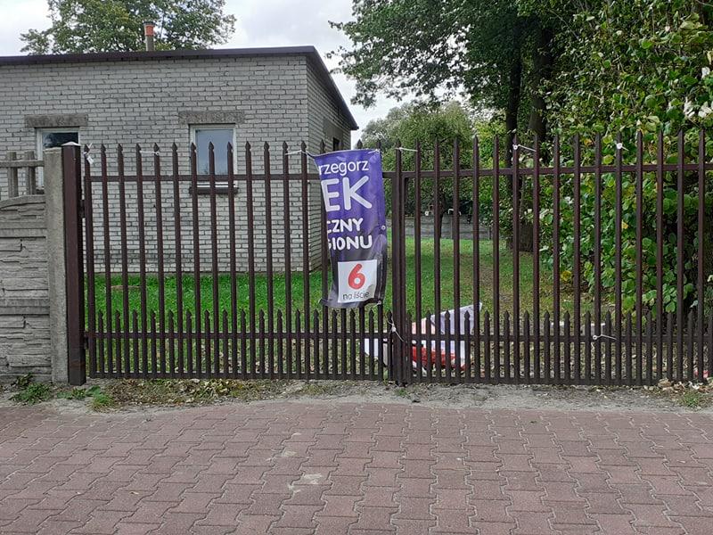Photo of Zniszczono banery w Ręcznie
