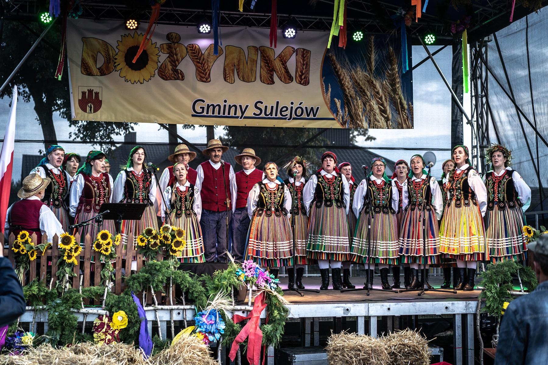Photo of Gmina Sulejów świętowała na dożynkach w Barkowicach