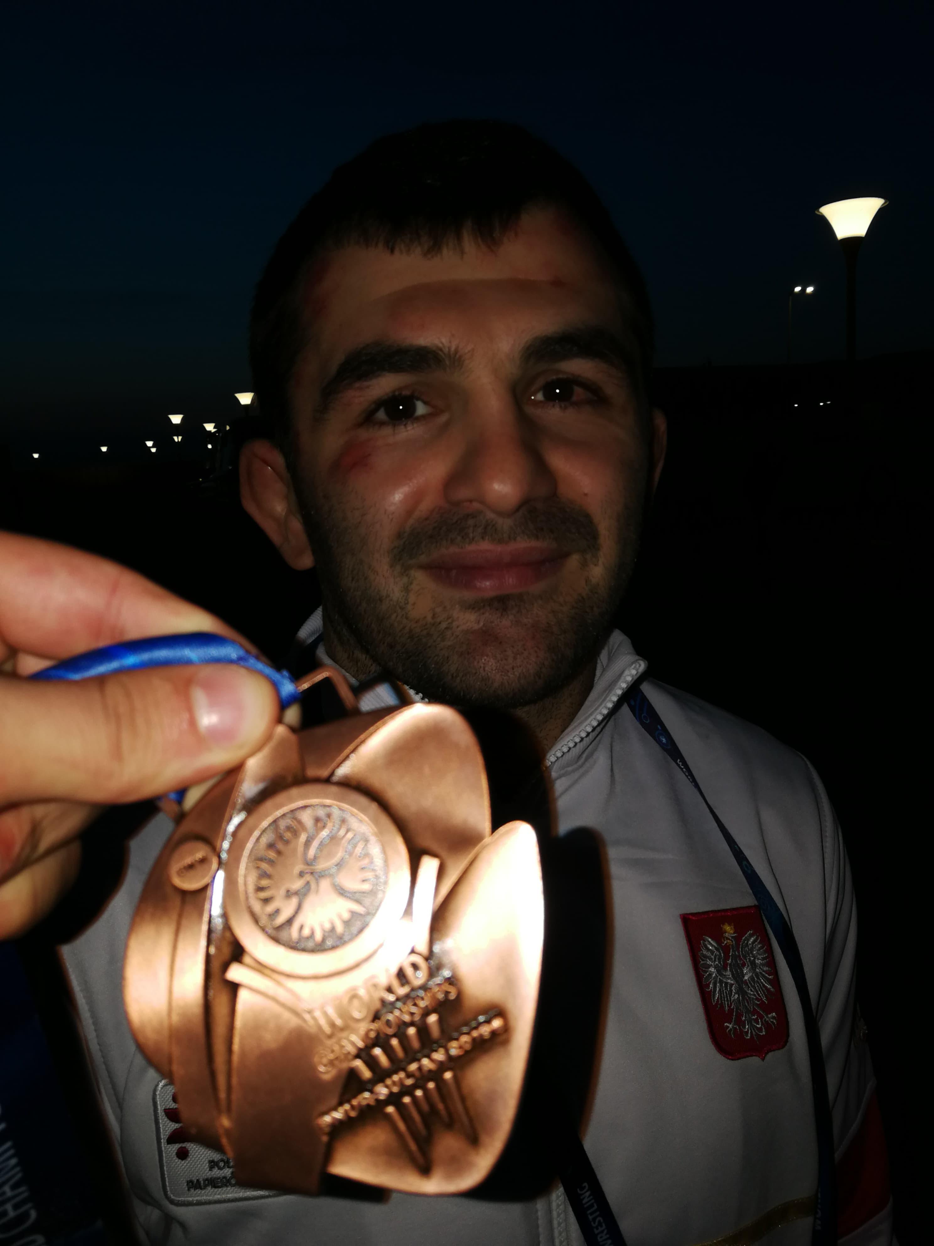 Photo of Magomedmurad Gadżijew  brązowym medalistą Mistrzostw Świata