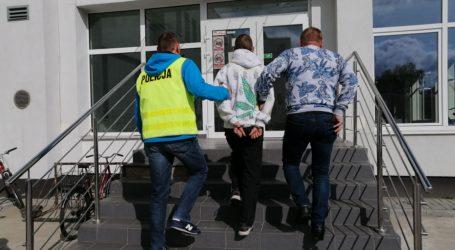 Kradł ser, a przed policją ukrył się w podwieszanym suficie