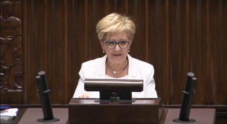 Ostatnie wystąpienie posłanki E.Radziszewskiej – wideo