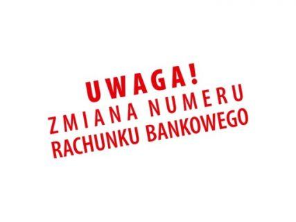 Photo of Zmiana numeru konta bankowego…
