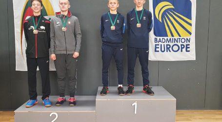 Srebrny medal Maksymiliana Danielaka na Litwie!