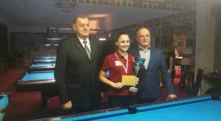 II miejsce Anity Sochackiej w Pucharze Polski w bilard