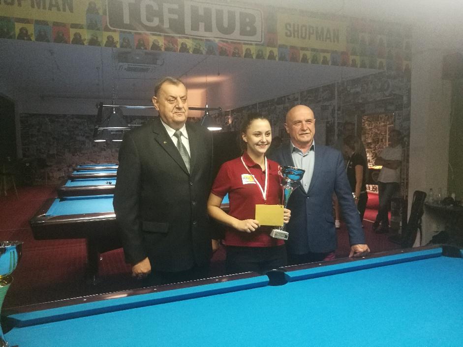 Photo of II miejsce Anity Sochackiej w Pucharze Polski w bilard