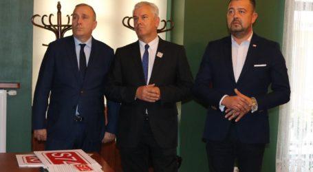 Grzegorz Schetyna w Piotrkowie poparł Cezarego Grabarczyka