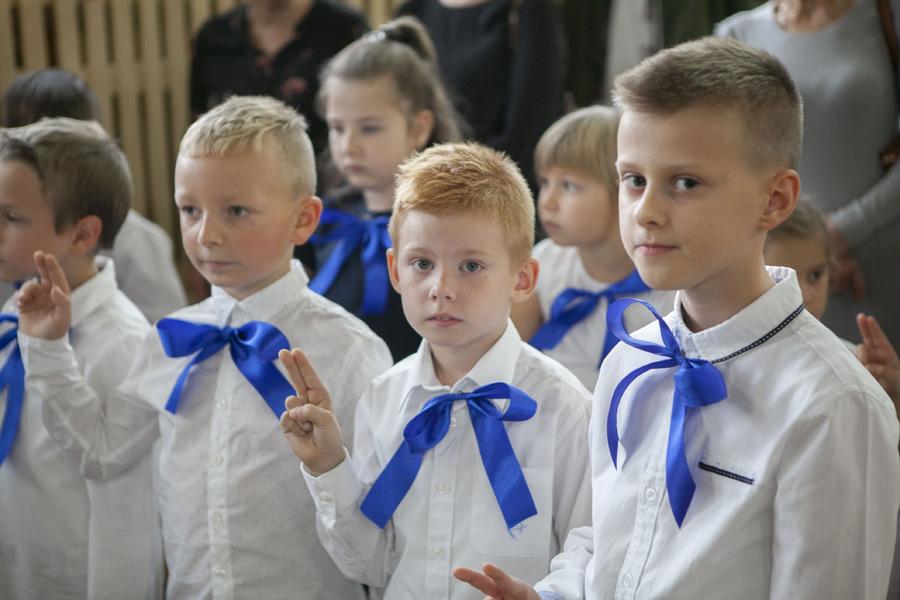 """Photo of Pierwszaki z """"trójki"""" złożyły ślubowanie – FOTORELACJA"""