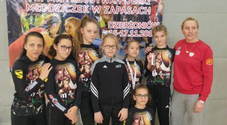 Srebro i brąz młodziczek AKS w mistrzostwach Polski
