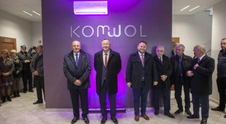 Spółka KOM-WOL w nowym budynku