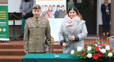 Szkoła w Bujnach podpisała porozumienie z WOT