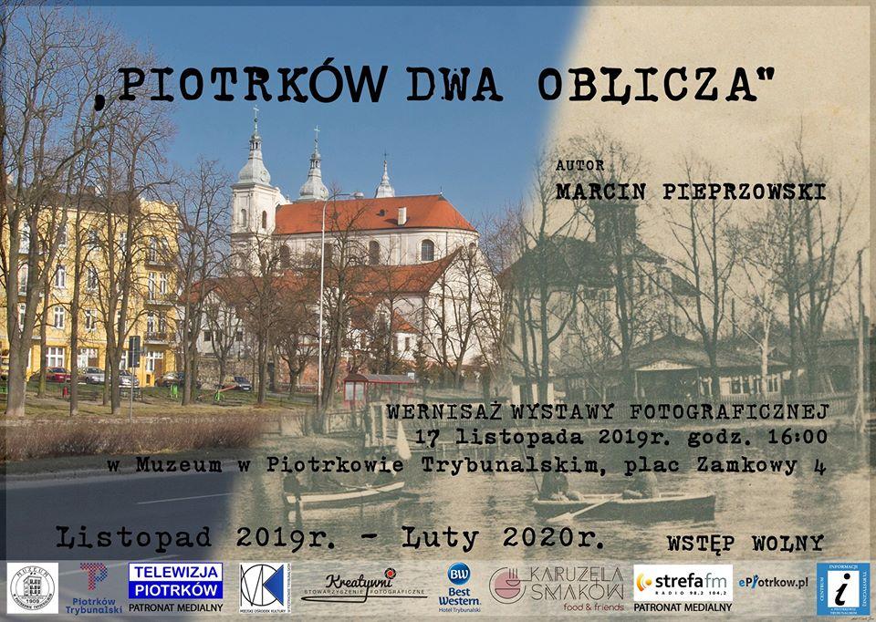 """Photo of """"Piotrków dwa oblicza"""" miasto kiedyś i dziś – wystawa Marcina Pieprzowskiego"""