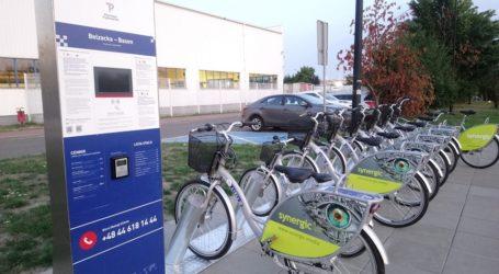 Belzacka basen – najpopularniejszą stacją roweru miejskiego