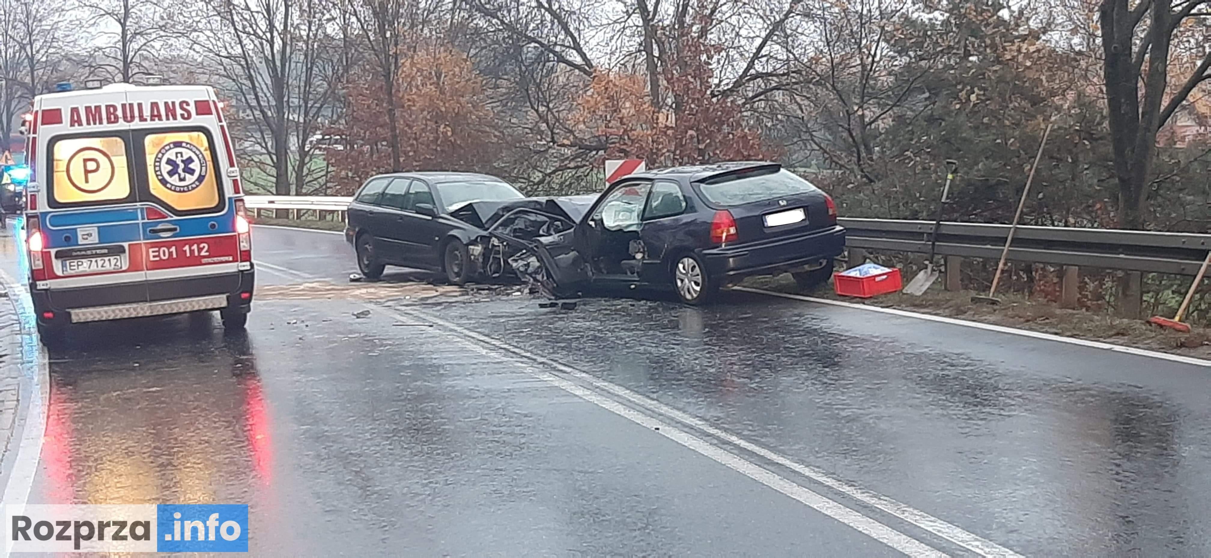 Photo of Czołówka w Cekanowie i potrącenie pieszej w Piotrkowie