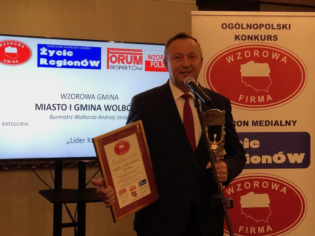 Photo of Kolejna nagroda dla Wolborza