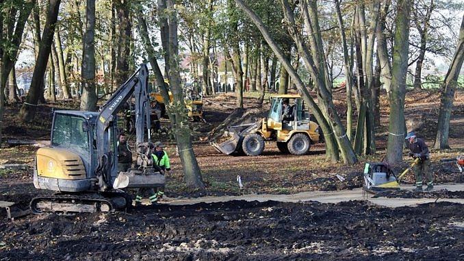 Photo of Rewitalizacja parku w Woli Krzysztoporskiej