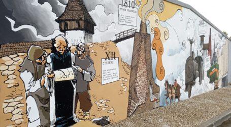 """W Sulejowie mają """"wapienniczy"""" mural"""